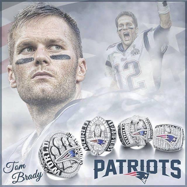 Tom Brady - 4 Rings