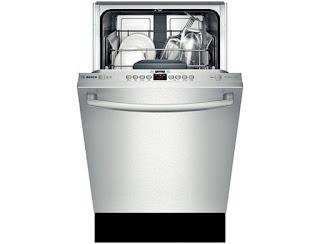 Bosch 18 inch dishwasher SPX5ES55UC & SPV5ES53UC