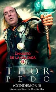 Chiquito de la Calzada en la película Thor