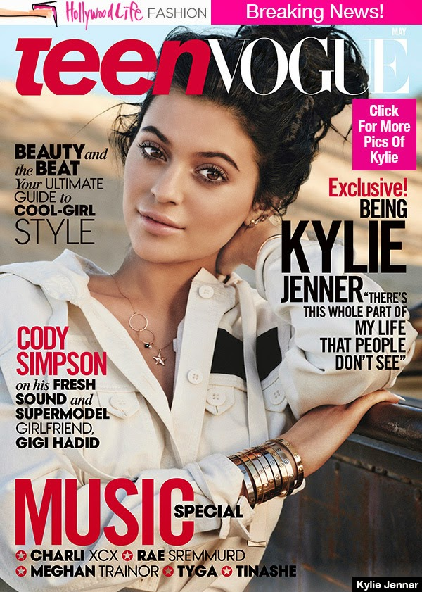 Actress, Model @ Kylie Jenner by Giampaolo Sgura for Teen Vogue, May 2015