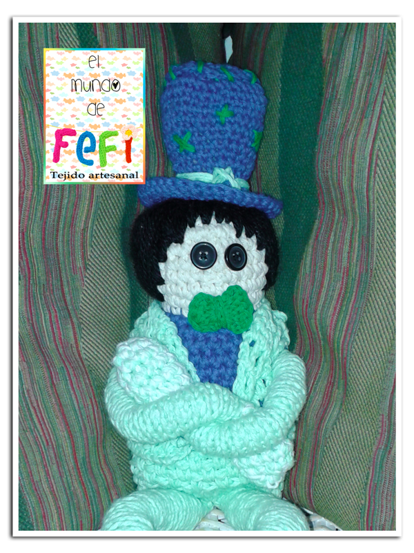 crochet, tejido, muñecos, fefi,