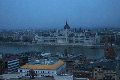 Hungarian Parliament House in Budapest