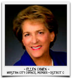 ELLEN COHEN IS CURRENTLY SERVING HER SECOND TERM IN OFFICE
