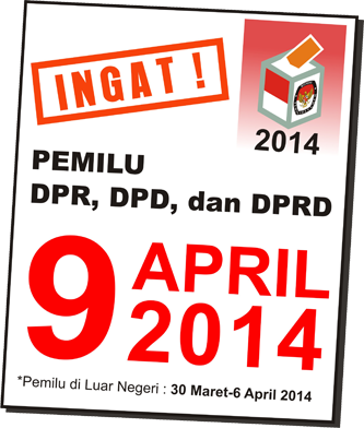 Hasil Quick Count Pemilu 2014 Legislatif
