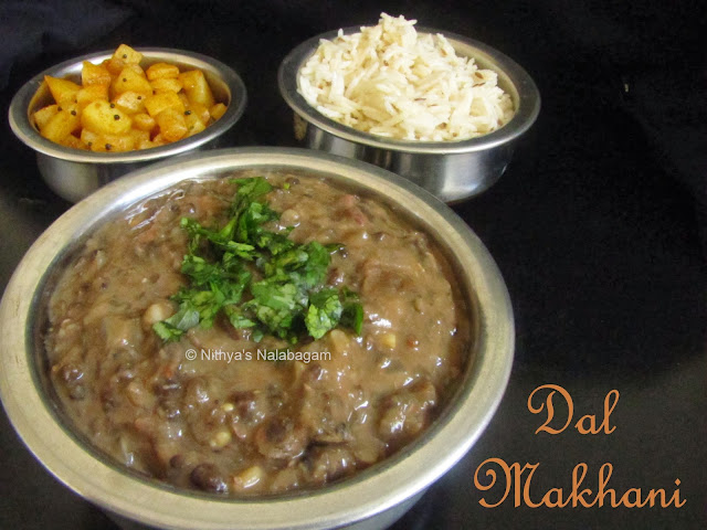 Dal Makhani Low fat version