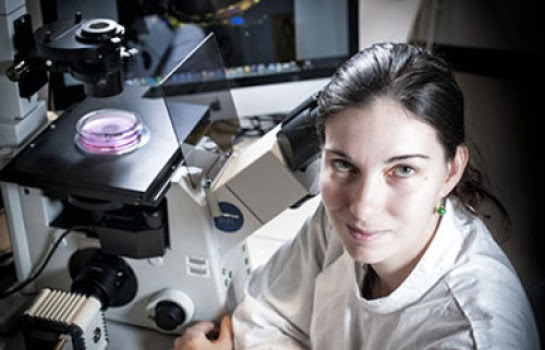 Rachel Okolicsanyi QUT stem cell researcher