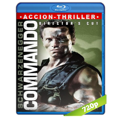 Comando (1985) BRRip 720p Audio Trial Latino-Castellano-Ingles 5.1