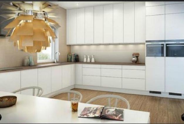Cocina y muebles c mo dise ar cocinas modernas cocina for Mesas de cocina blancas y madera
