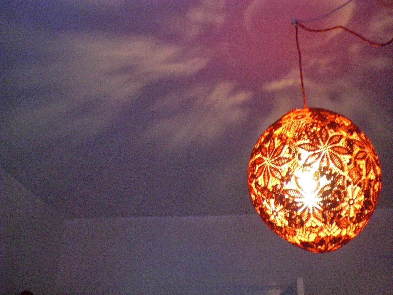 lampe af mellemlægsservietter