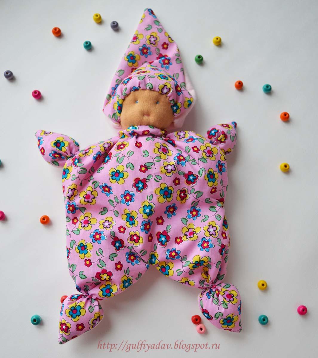 вальфдорская кукла-бабочка
