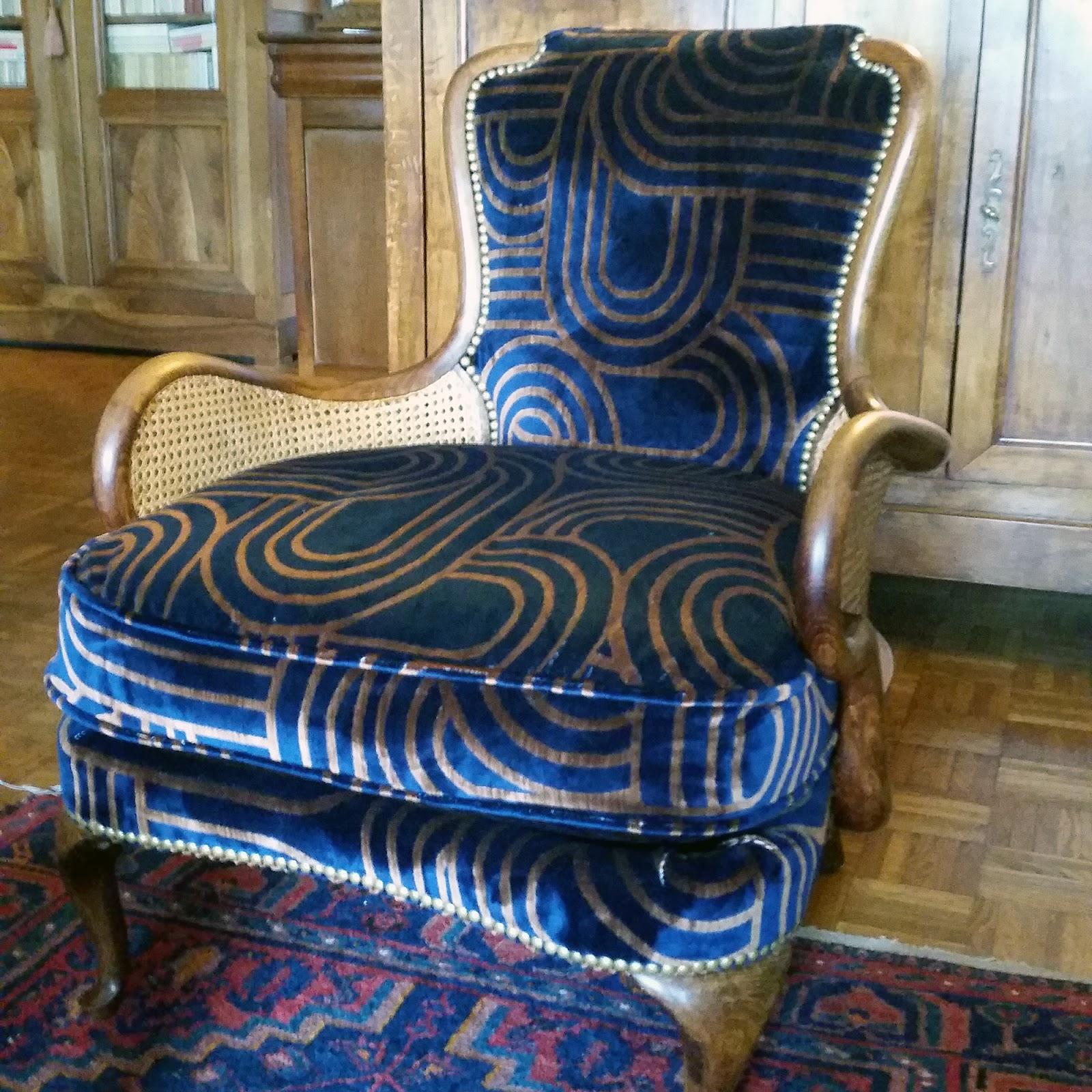 avant apr s fauteuil anglais atelier velvet artisan tapissier paris 10e. Black Bedroom Furniture Sets. Home Design Ideas