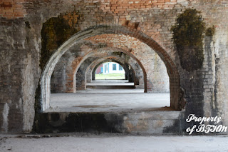 fort pickens row of arches