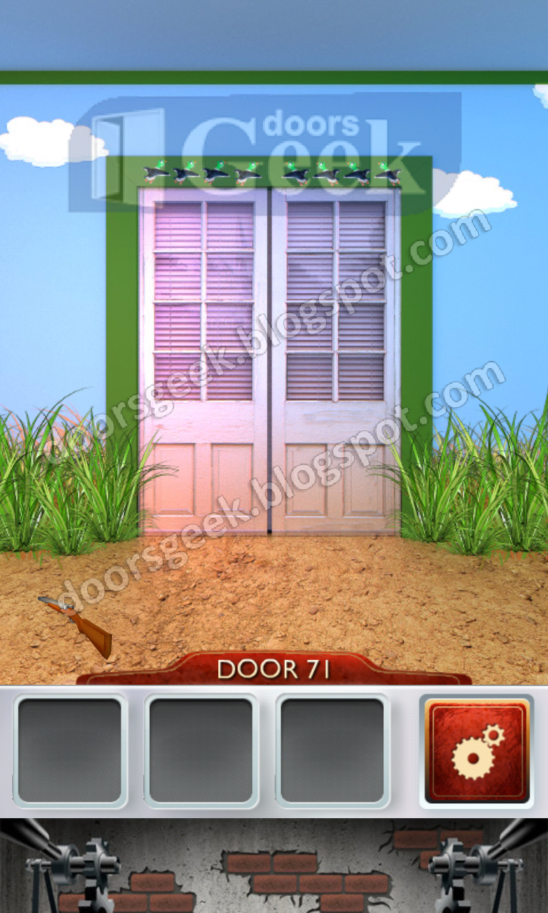 100 doors 2 level 71 doors geek for 100 doors door 9 solution
