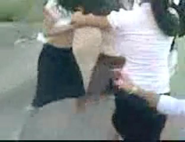 Tawuran Brutal Siswi SMA Hingga Baju dan Rok Robek 6 ~ W3N