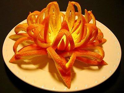 Кошничка от портокал