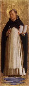 Beato Angélico, S. Tomás de Aquino (1340-45)