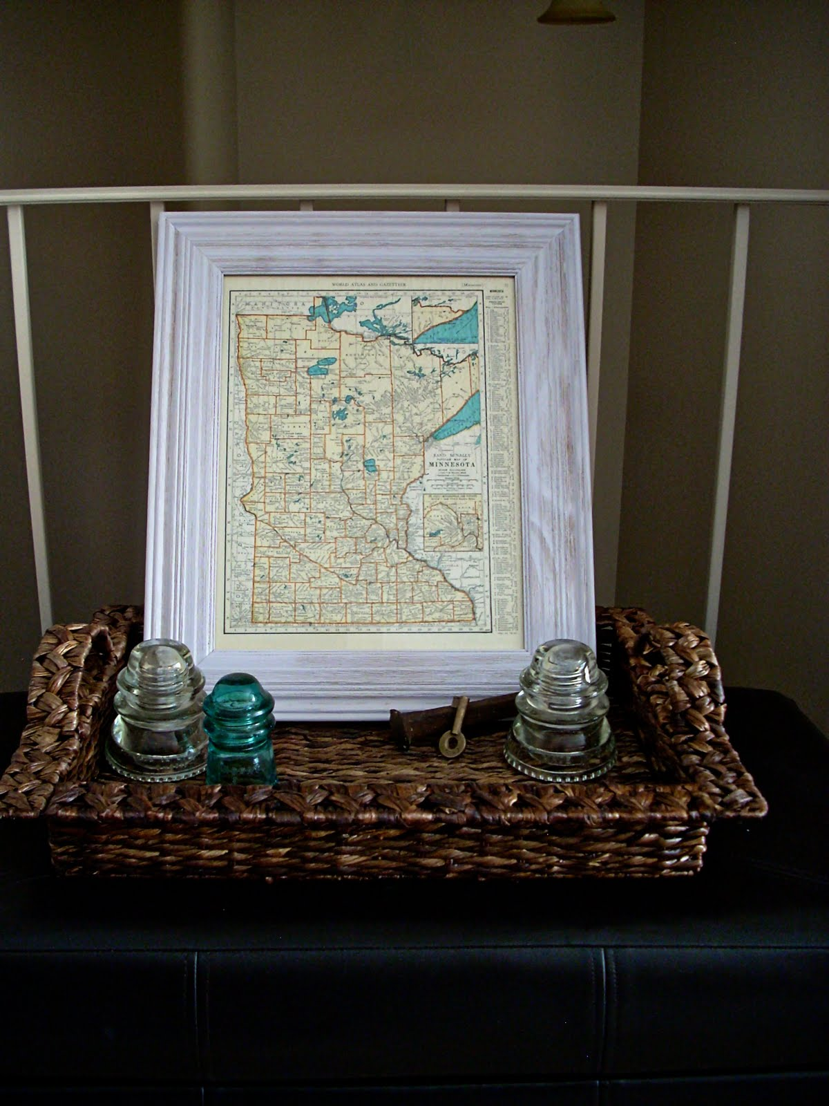 Loving Vintage Map Art The Domestic Domicile - Cheap vintage maps