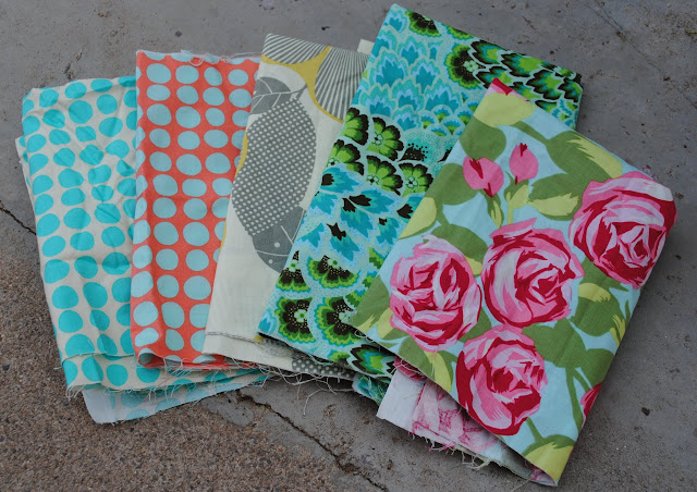 rescued amy butler fabric
