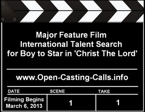 Feature Film Christ The Lord Talent Search