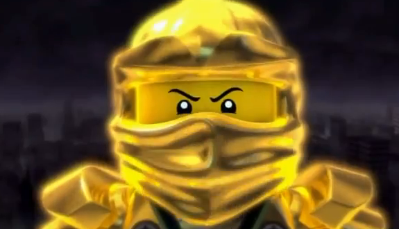 goldener ninja ninjago
