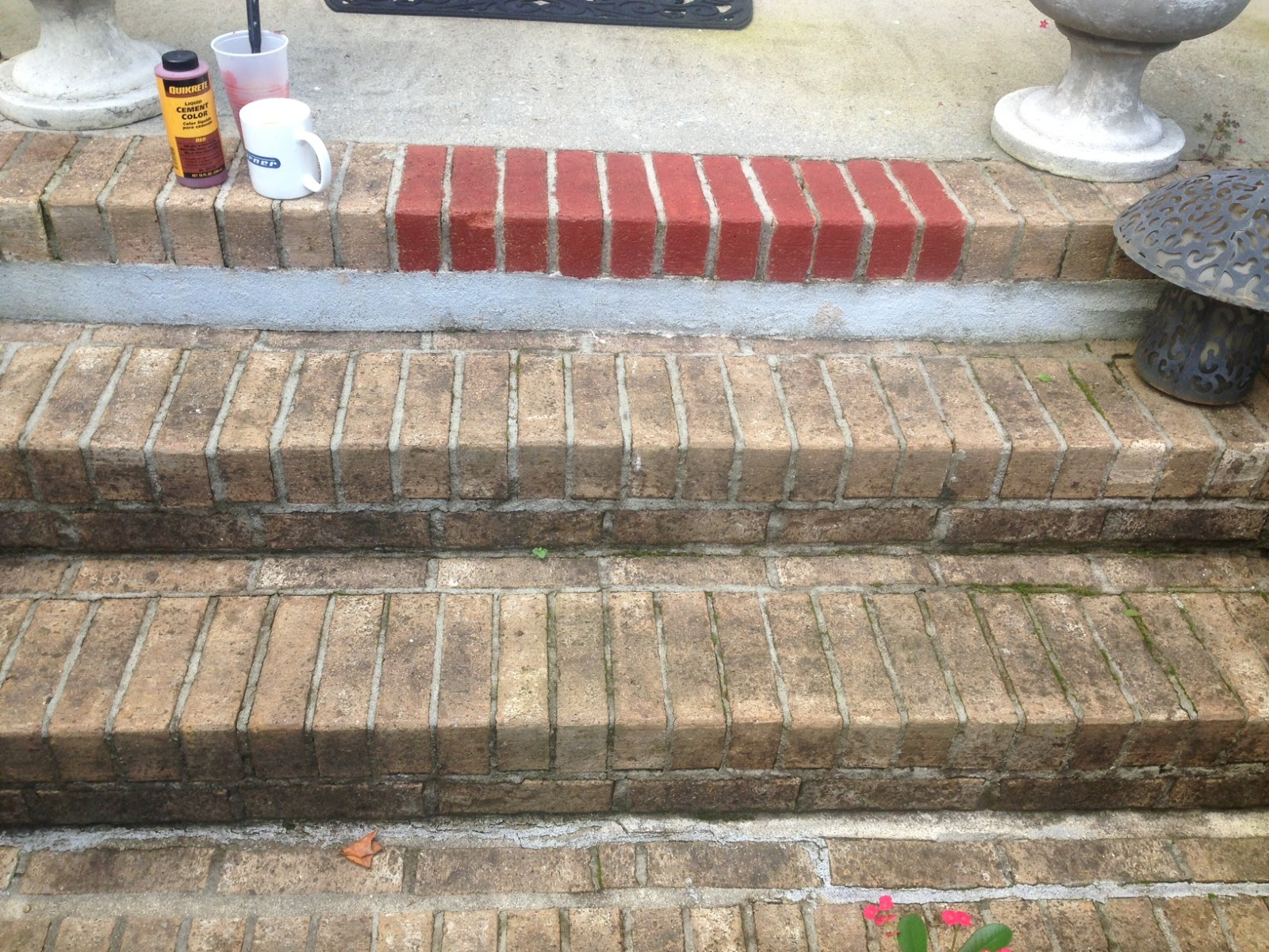 Christy's Thrifty Decorating: Painting Brick