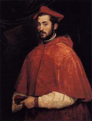 Titien - cardinal Alexandre Farnese