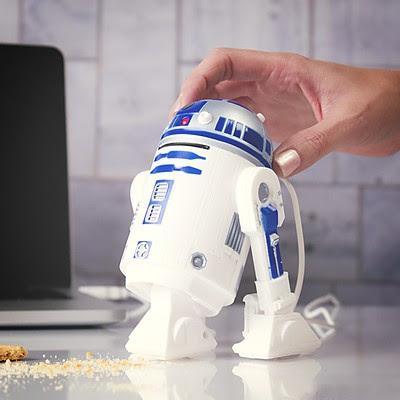 Aspirador de Escritorio USB R2-D2
