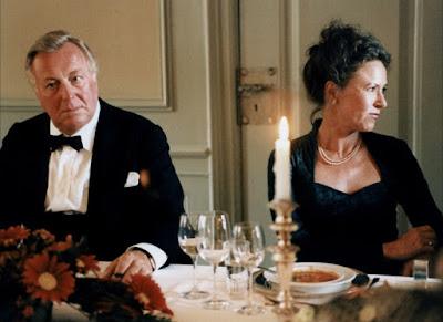 Le patriarche et sa femme dans Festen, de Thomas Vinterberg (1998)