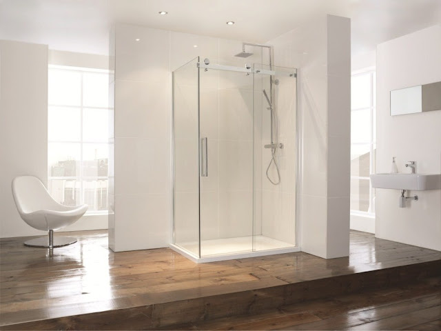 Frameless Sliding Shower Doors New For 2013 The Aquaglass Sliding