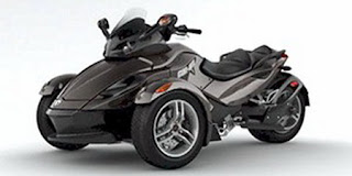 Can-Am Spyder RS Motorcycle