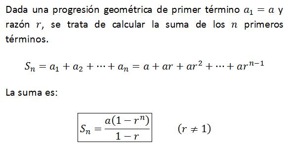MasterFinanciero.es: Sucesiones y series geométricas