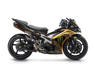 Modifikasi Jupiter Mx Baru 2013