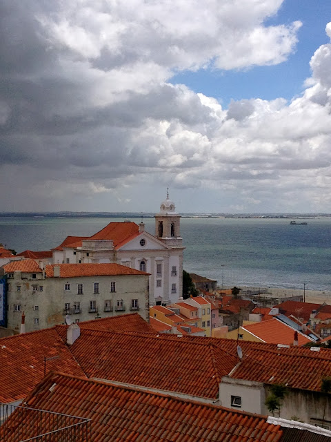 View of Lisbon on Semi-Charmed Kind of Life