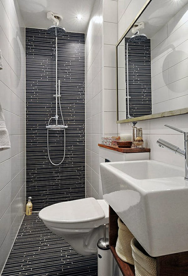 Bathroom decor for Small 1 2 bathroom decorating ideas