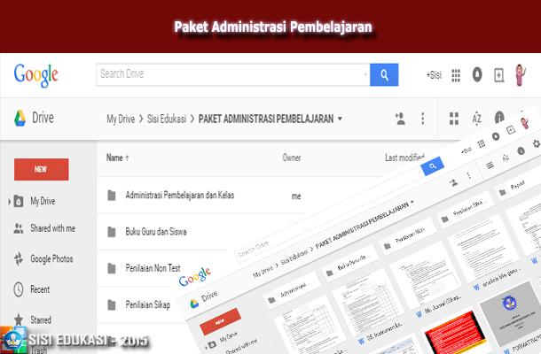 Download Contoh Administrasi Pembelajaran