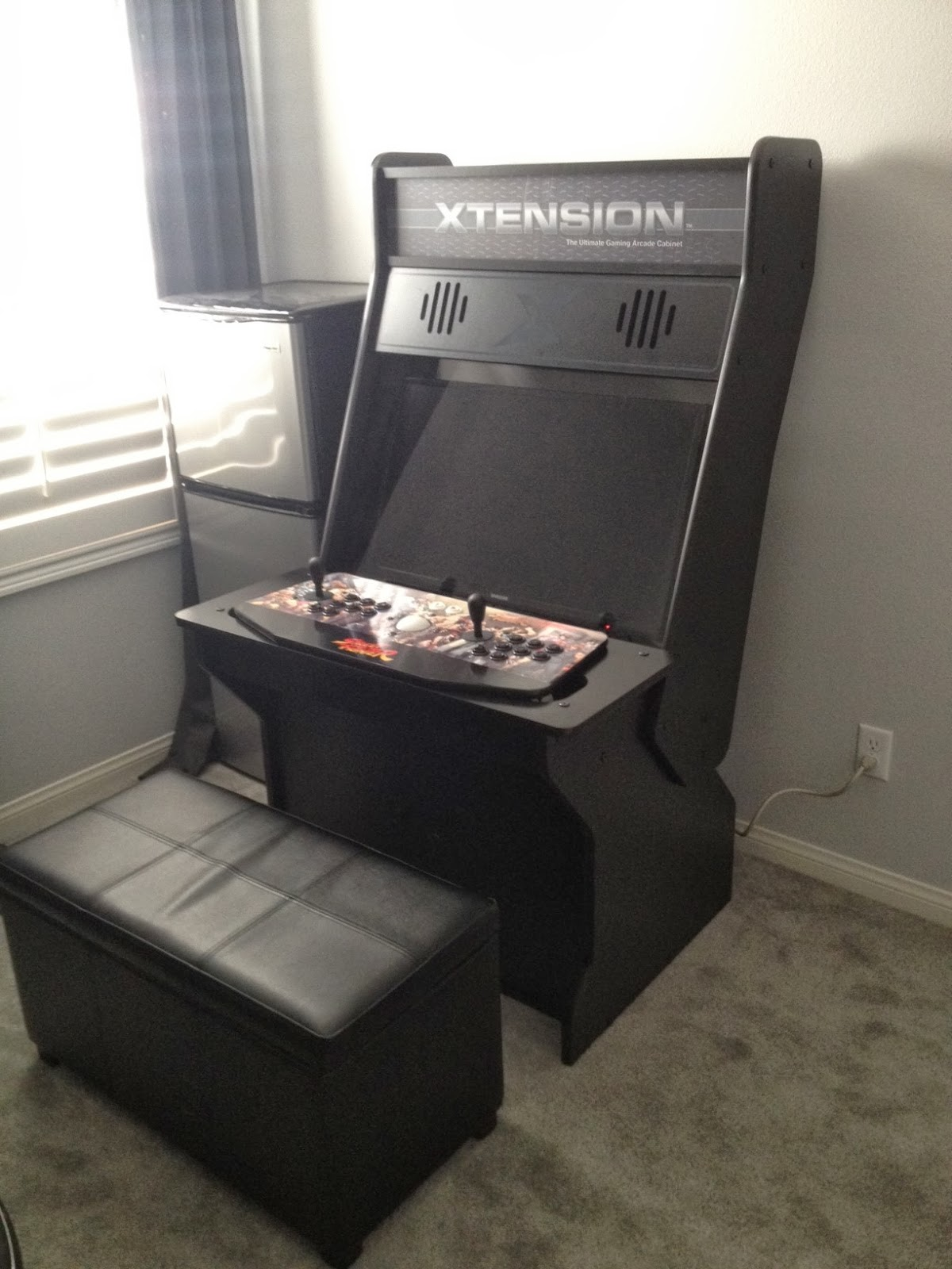 nerding out sit down arcade. Black Bedroom Furniture Sets. Home Design Ideas
