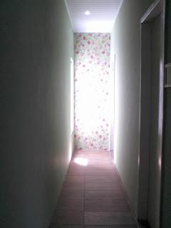 aplicar tecido na parede