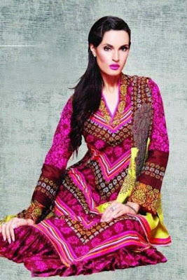 Nadia Hussain Signature Lawn Collection 2012