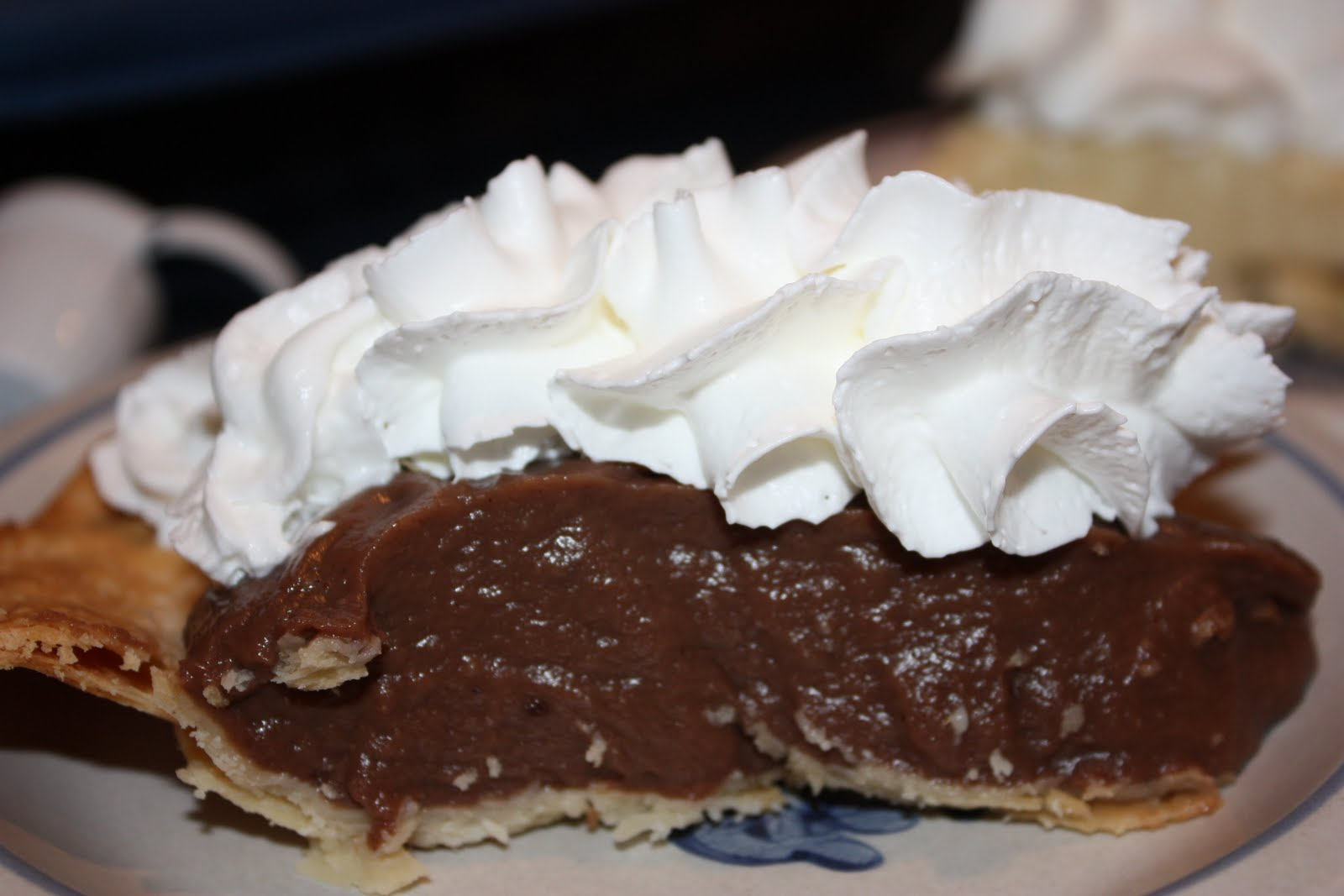 Only From Scratch: Chocolate Cream Pie