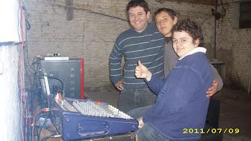 Equipo de Trabajo a cargo del Sonido
