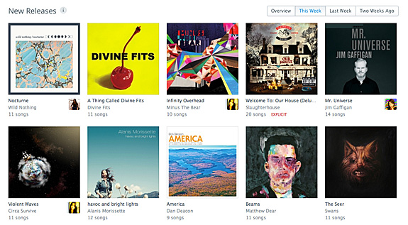 Music New Releases Rdio