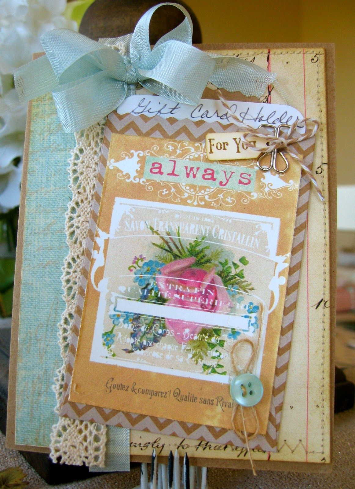 Cream colored cardstock paper studio - Recipe I Started With My Favorite Kraft Card Stock From Paper Studio I Added Two Different Pattern Papers For The Main Panel Love The Mix Of Texture And