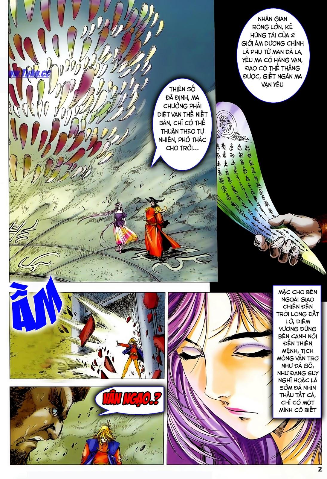 Lục Đạo Thiên Thư chap 47 - Trang 4