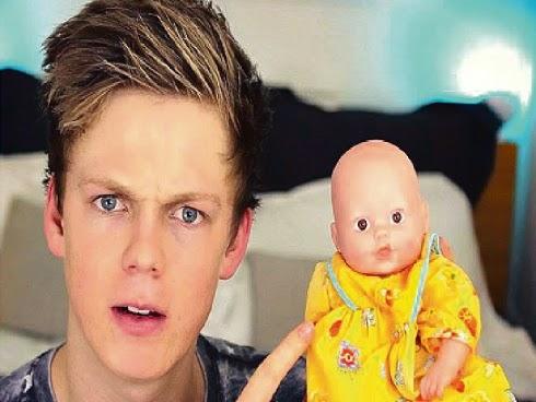 Caspar Lee cari rakan baharu di Youtube