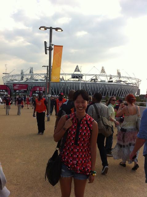 My Olympics so far!