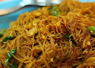 Fried Rice Noodles Bihun Goreng
