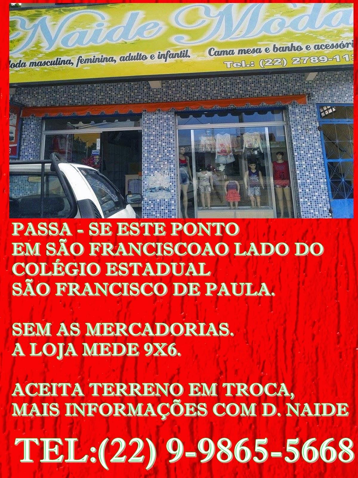PASSANDO OU TROCANDO ESTE PONTO COMERCIAL