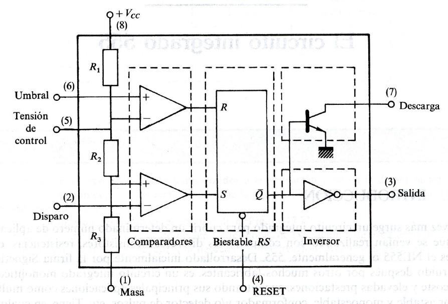 Circuito Integrado 555 : Timer aprendiendoelectrónica