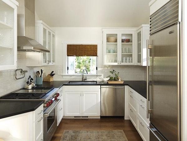 Dise o para cocinas peque as c mo dise ar cocinas - Cocinas pequenas cuadradas ...