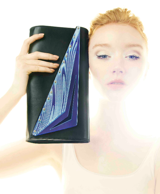 Bold clutch Bag From Kzeniya